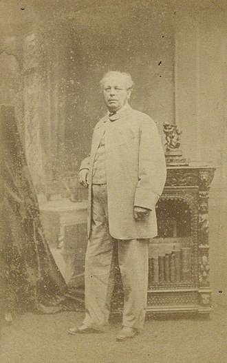 Edward Duncan - Portrait by Ferdinand Jean de la Ferté Joubert (1865)