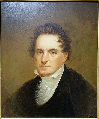Edward Livingston - Image: Portrait of Edward Livingston, by Thomas Sully, c. 1810 1836, oil on canvas Portland Art Museum Portland, Oregon DSC08898