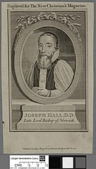 Joseph Hall, D.D. Late Lord Bishop of Norwich