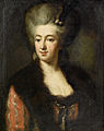 Portrait of a lady in a red dress with a fur-trimmed wrap 18c.jpg