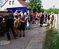 Prčice, Jezerská, cíl pochodu 2011 (02).jpg