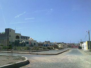 Rabil Settlement in Boa Vista, Cape Verde