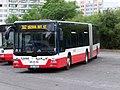 Praha, Háje, autobus MAN dopravce ČSAD Polkost (01).jpg