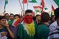 Pre-referendum, pro-Kurdistan, pro-independence rally in Erbil, Kurdistan Region of Iraq 15.jpg
