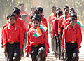 Premasagar jharkhand school children marching republic day.jpg
