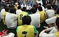 President Mahmoud Ahmadinejad, Iran's national football (soccer) team - 28 February 2006 (23 8412090596 L600).jpg