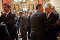 President greets Rep. George Miller, D-CA., 2009.jpg