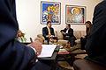 Presidente de Georgia arribó a Quito (9509762203).jpg