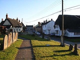 Preston Bissett Human settlement in England