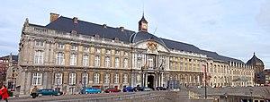 Prince-Bishops' Palace (Liège) - The Prince-Bishops' Palace in 2010