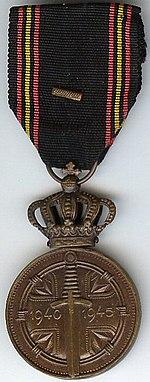 Prisoner of War Medal 1940-45 Belgium.jpg