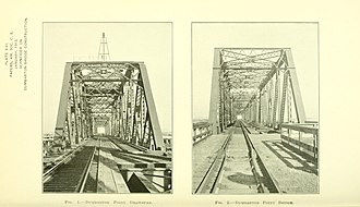 Dumbarton Rail Bridge - Image: Proceedings 39amer 0231