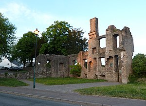 Magor, Monmouthshire - The remains of the Procurator's House