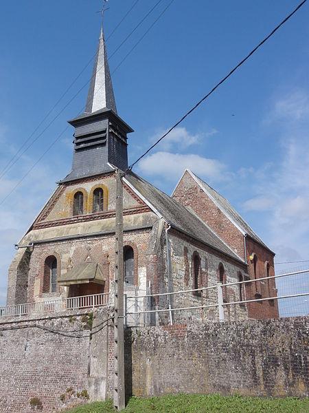 Proisy (Aisne) église