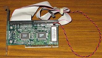 Disk array controller - Promise Technology ATA RAID controller