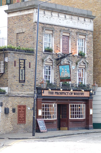 Prospect of Whitby pub. From London's 8 Most Unique Pubs