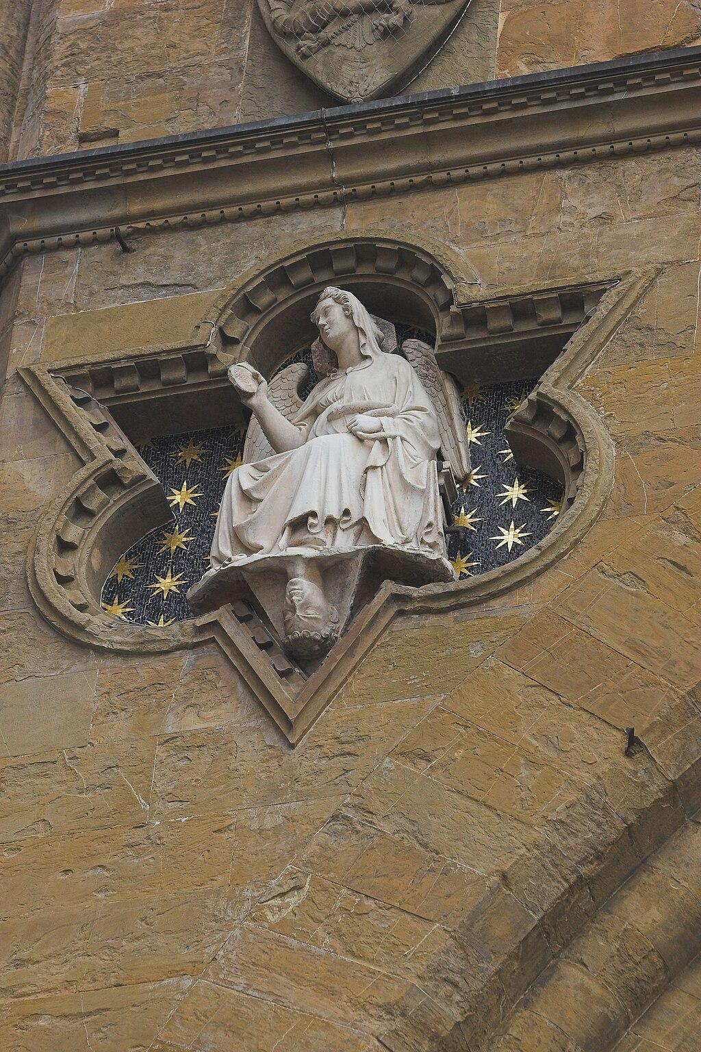 Prudence at Loggia dei Lanzi