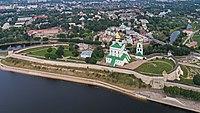 Pskov asv07-2018 Kremlin aerial5.jpg