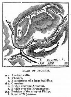 Psophis human settlement