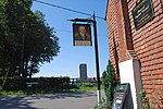 File:Pub sign for the Bat and Ball public house - geograph.org.uk - 1455642.jpg