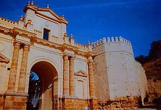 Carmona, Spain - Image: Puerta de Cordoba di Carmona