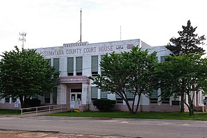 Pushmataha County Courthouse