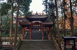 Puzhao Temple in Dujiangyan