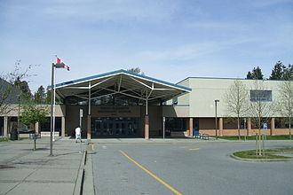 Queen Elizabeth Secondary School - Image: Queen Elizabeth Secondary (on 136 Street)
