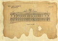 Queensland State Archives 5346 Architectural drawing of the New Law Courts elevation to North Quay George Street Brisbane 1 September 1875.png