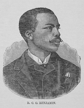 R. C. O. Benjamin - Benjamin in 1887