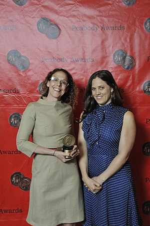 12th & Delaware - Rachel Grady and Heidi Ewing at the 70th Annual Peabody Awards