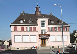The town hall in Raedersdorf