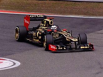 2012 Chinese Grand Prix - Kimi Räikkönen