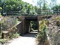 Railway Bridge over narrow country lane - geograph.org.uk - 28976.jpg