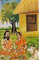 Ramabhadracharya Works - Painting in Arundhati (1994).jpg