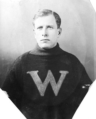 Ran McDonald - McDonald in 1912 with the New Westminster Royals
