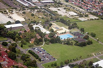 Randwick Barracks - Randwick Barracks from the air