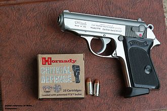Walther PP - A Stainless PPK made under License by Ranger Arms
