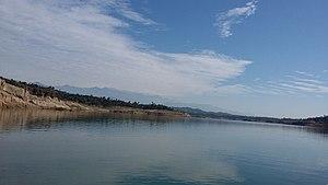 Ranjit Sagar Dam - Ranjit sagar dam lake