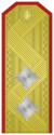 Rank insignia of Генерал-майор of the Bulgarian Army.png
