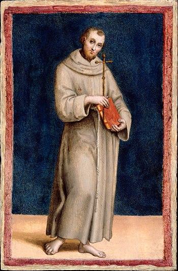 RAPHAEL Saint Francis of Assisi c.1502