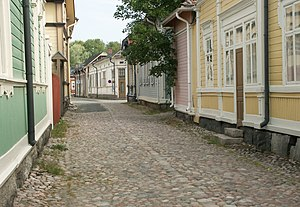 Street in Old Rauma