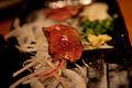 Raw Liver dish in Japan (3847645725).jpg