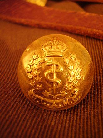 Royal Canadian Army Medical Corps - Royal Canadian Army Medical Corps button