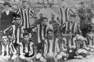 UD Las Palmas - Real Club Victoria in 1910.
