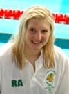 Rebecca Adlington in 2008