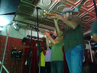 Rebirth Brass Band - Rebirth Brass Band at the Maple Leaf, December 15, 2015