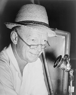 Red Barber, sportscaster