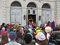 Red Bean Parade in lower Faubourg Marigny, New Orleans Carnival 39.jpg
