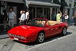Red Ferrari Mondial Cabrio
